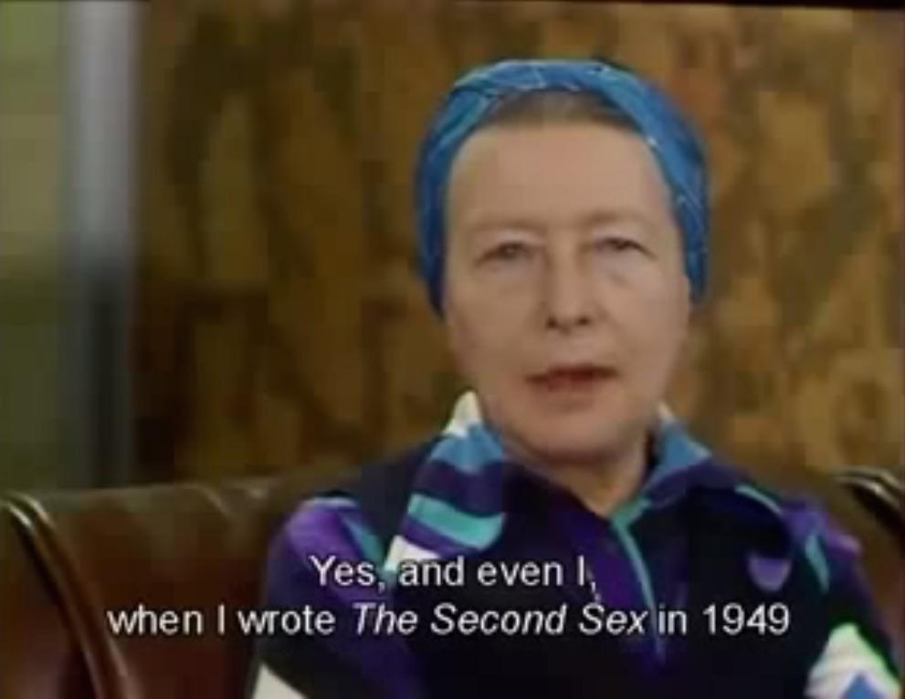 simone de beauvoir 1949